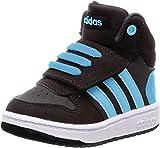 adidas Hoops Mid 2.0 I, Zapatillas Unisex Niños, Multicolor (Core Black/FTWR White/Hi/Res Red S18 B75945), 22 EU