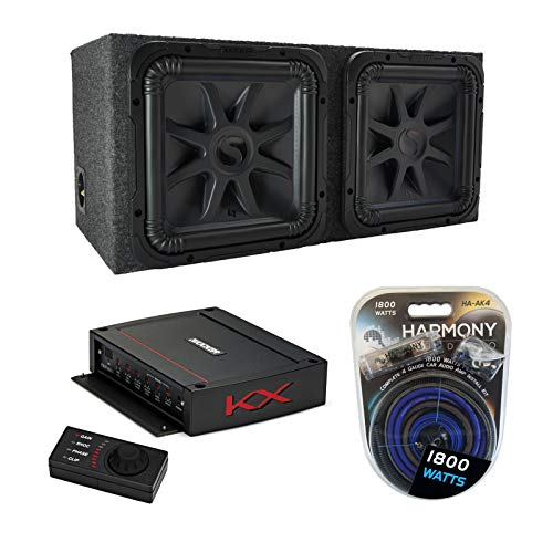 american sound connection car subwoofers Kicker Car Audio Solobaric 15