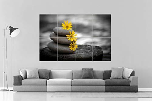Póster Zen Relaxation Deco Home Serenity en formato grande A0