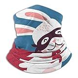 ASDAH Rosa und weißes süßes Kaninchen im Superheldenkostüm. Du bist Mein Held Text. Stilvolles...
