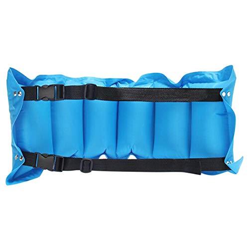MVPACKEEY - Cintura gonfiabile da spiaggia, per principianti, bambini, adulti, blu