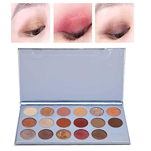 17 couleurs Ombre à paupières mate Palette Ombre à paupières Maquillage professionnel Outil Comestic