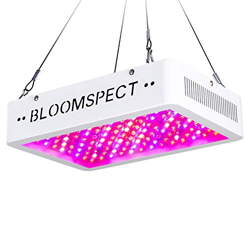 BLOOMSPECT Upgraded 1000W LED Grow Lights with Veg & RED & Bloom 3 Modes, Daisy Chain, Double Chips Full Spectrum Plant Grow Light for Indoor Plants Veg and Flower (100pcs 10 Watt LEDs)