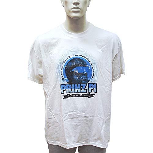 Prinz Pi T-Shirt Tour de Prince weiß (XXL)