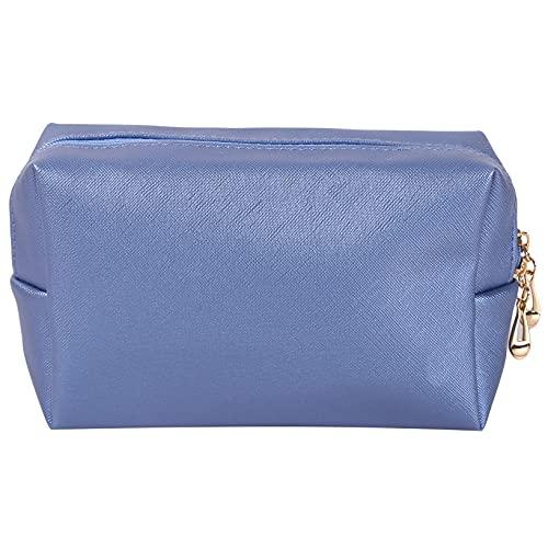 YHFJB Kit de maquillaje, bolsa de accesorios inteligentes con gran capacidad para guardar la supervivencia de belleza, objetos dispersos durante el viaje de boda, color azul