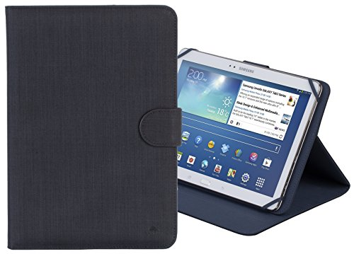 Amazing Deal Rivacase 3317 Universal 10 Inch Tablet Cover Case, Stylish, Protective, Black Color