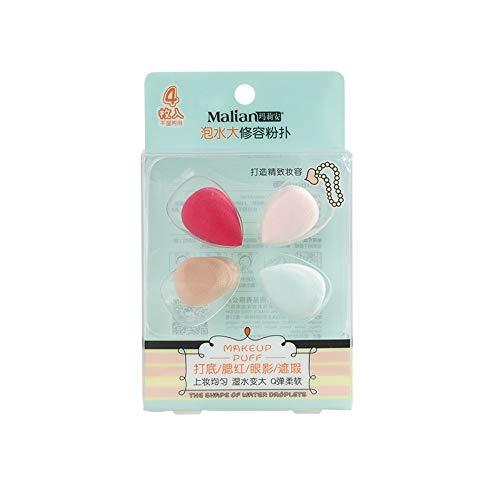 Drametree Mini Petit Maquillage Gourd Puff Puff Makeup Fond de Teint Couleur Outils de Maquillage (3 pièces)