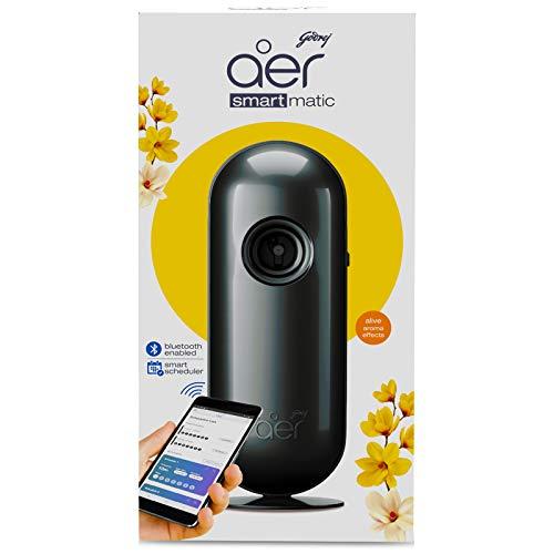 Godrej aer Smart Matic - BLUETOOTH ENABLED Automatic Air Freshener Kit, Alive (2200 sprays)