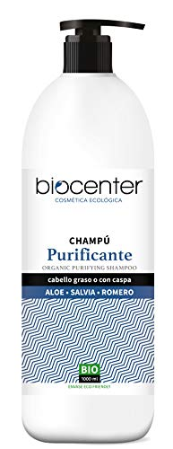 Champú ecológico Purificante - 1000 ml - línea Top Eco Friendly - Biocenter