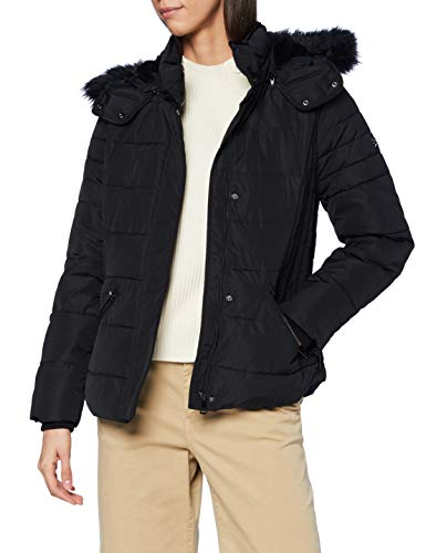 ESPRIT Damen 090EE1G304 Jacke, 001/BLACK, S
