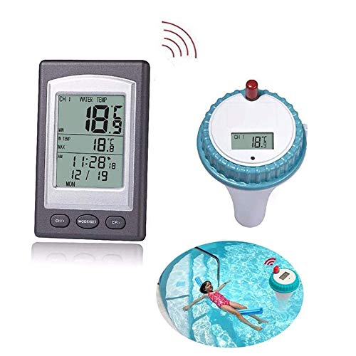 Wireless Pool Thermometer – Digital Floating Pool and Thermometer