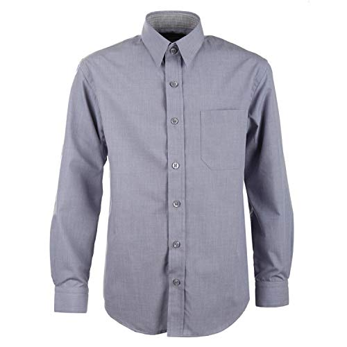 G.O.L. - Jungen festliches Hemd Langarm, grau - 5511900grau, Größe 128