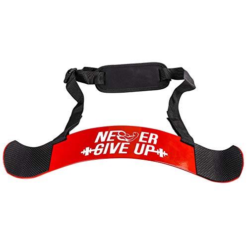 POHOVE Arm Blaster - Aislador de bíceps resistente para culturismo, levantamiento de pesas, gimnasio, ejercicio, entrenamiento de bíceps