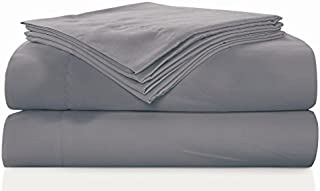 Sausalito Nights 300 Thread Count Cotton Sheet Set, King, Taupe