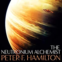 The Neutronium Alchemist - Nights Dawn Trilogy, book 2. By Peter F Hamilton.