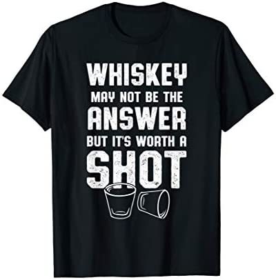 Whiskey Drinker Gifts Whiskey Worth A Shot product image