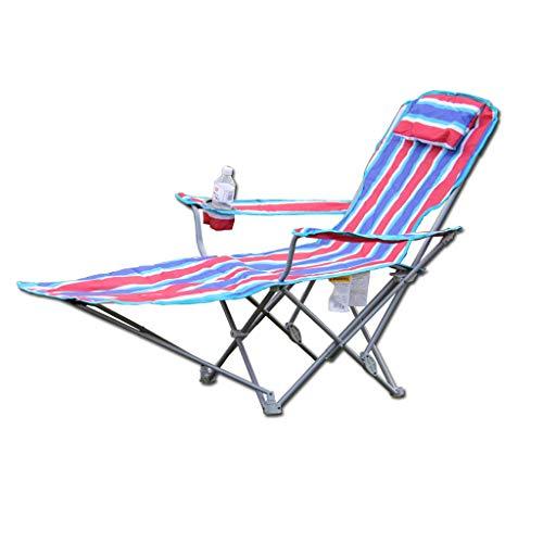 Hh001 Outdoor Camping Klappstuhl Strand Stuhl Angeln Stuhl Freizeit Tragbare Sitzen Dual-use-Heim Gartentisch Und Stuhl Mit Ständer Und Tragetasche (Color : B)