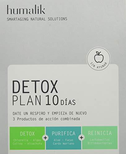 Humalik Detox Plan 10 Dias 10Sbrs+10Comp - 200 gr