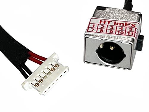 HT ImEx - Conector de fuente de alimentación DC Jack Jack hembra de carga, compatible con Acer Aspire R11 (R3-131T-C1TA), R11 (R3-131T-C1TR), R11 (R3-131T-C1TW), R11 (R3-131T-P5H1).