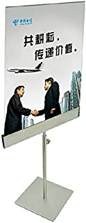 Stainless Steel Table Poster Stand Poster Banner Billboard Display Stand Tabletop Display