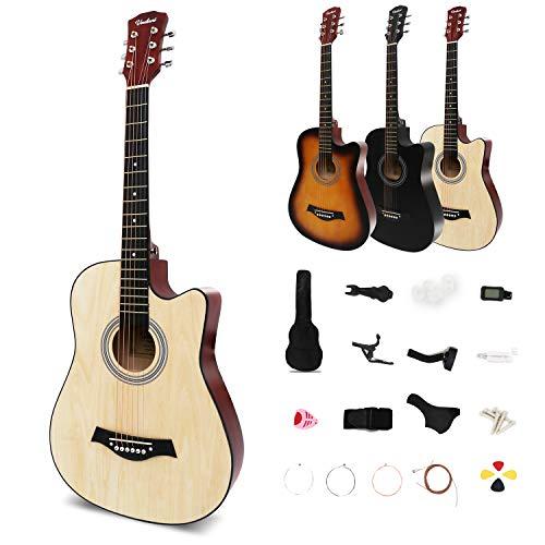 Acoustic Guitar, 17-piece Set, Beginner's Set Guitar, Beginner's Level Beginner's Practice Guitar
