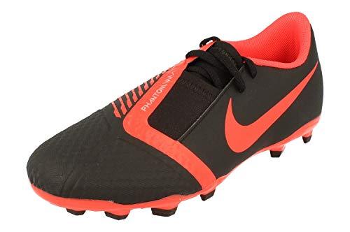 Nike JR Phantom Venom Academy FG Black/Bright Crimson-Black, (Black Bright Crimson Black), 38.5 EU