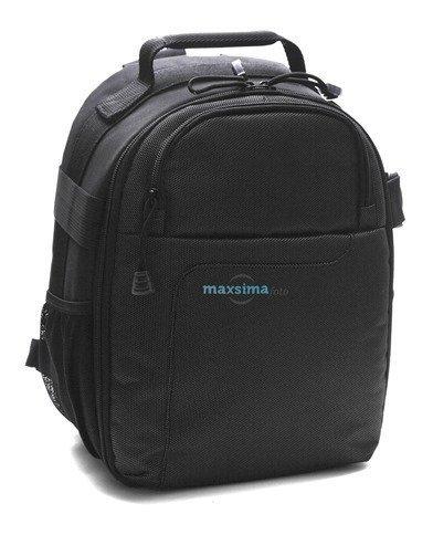 Maxsimafoto–Kleiner Rucksack/Rucksack–Kamera Tasche für DSLR-Kameras, Compact System Kamera und Bridge Kameras. Nikon, Canon, Samsung, Panasonic, Olympus, Fujifilm, Leica, Sony und Pentax.