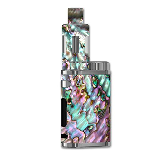 Skin Decal Vinyl Wrap for eLeaf iStick Pico 75W Vape Mod Skins Stickers Cover/Abalone Pink Green Purple Sea Shell