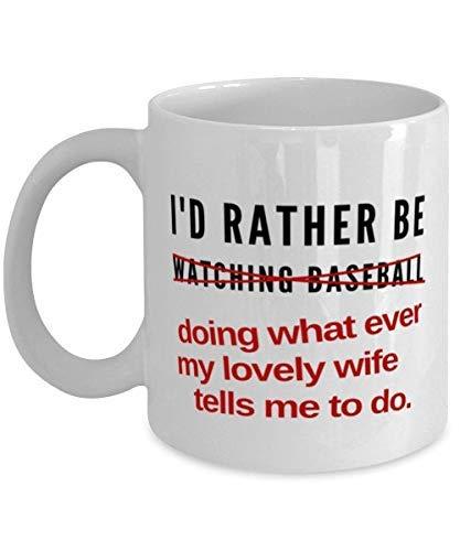 Regalo de béisbol Taza de béisbol Regalo de aficionado al béisbol para hombres Regalo de béisbol para marido Coleccionista de béisbol Entusiastas del béisbol