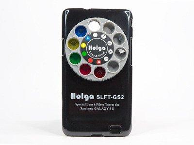 Holga Objektiv abnehmbar und Filterrad DLFT-GS2 für Samsung Galaxy SII schwarz