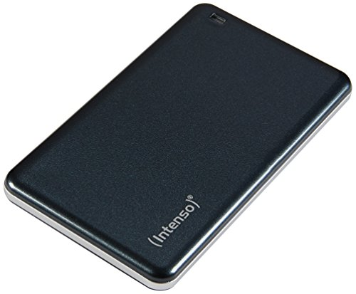 Intenso 128GB USB 3.0 Portable Tragbare Externe SSD (Solid State Drive) Festplatte anthrazit