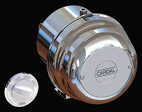 Aquecedor Super Hidro 2 Cardal Cromado Pequeno