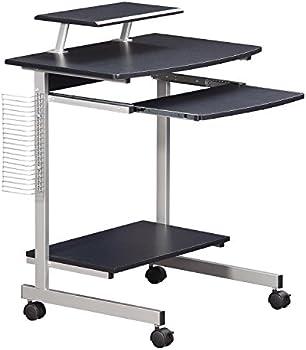 Techni Mobili Compact Rolling Computer Cart w/ Storage