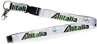 【 メール便発送 】アリタリア イタリア航空 Alitalia ロゴ ネックストラップ ランヤード
