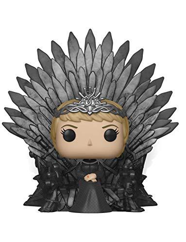 Funko- Pop Deluxe: Game of S10: Cersei Lannister Sitting on Iron Throne Figura Coleccionable, Multicolor (37796)