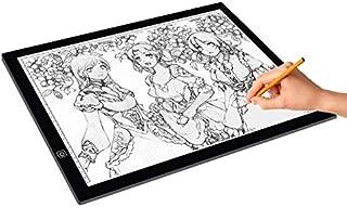 Tablero de Dibujo, Pintura Pista, Regalo Mejor la Venta de 8W LED USB 5V Tres Nivel de luminosidad Regulable A3 Escala acrílico Juntas de Copia for su Dibujo Animado de Dibujos con Cable USB
