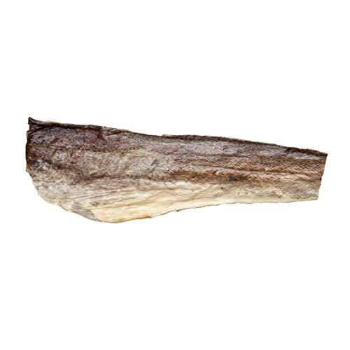 Bottarga Boreale - Dried Norwegian Cod Skins (Premium Grade) - Fish Snack – Ready to Fry or Bake – 5 Sheets