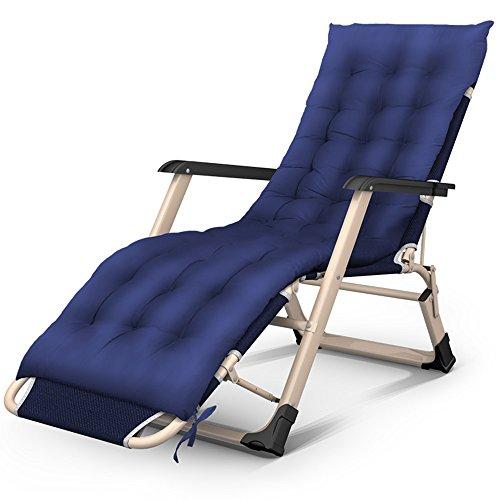 Dekstoel JCOCO Opvouwbare Lounge Stoelen - Draagbare Gratis Installatie 3 Opklapbare Bedstoelen/Tweepersoonsbedden/Eenpersoonsbedden/Kantoor Luie Bedden/Ziekenhuisbedden/Briefing Bedden/Camp/Onzichtbare Bedden Cyaan