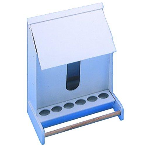 Nobby Futterautomat-Kunststoff Sittiche 20 cm - 1 Fach, 1 Stück