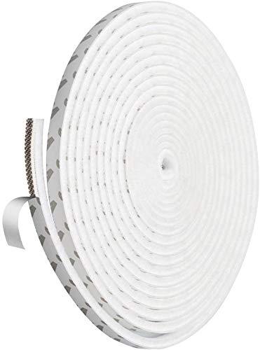 9 * 5 mm selbstklebende Bürstendichtung, winddichte Dichtung, Türbodendichtung, verwendet in Garderoben, Fenstern und Schiebetüren. Höhe 5mm Weiß, Grau, Braun (Weiß)