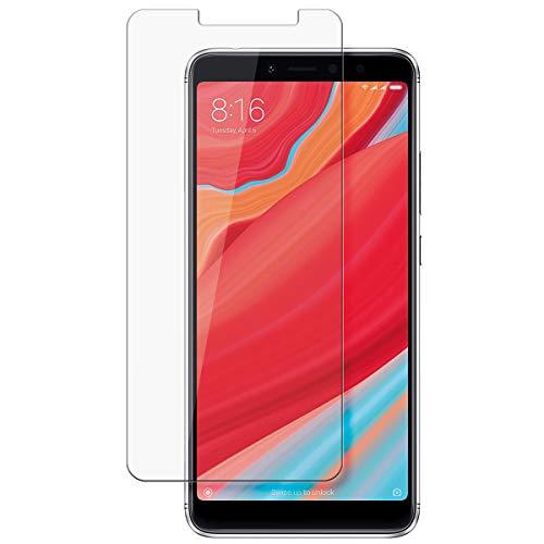 disGuard Protecteur d'écran [Crystal-Clear] Compatible avec Xiaomi Redmi Y2 [2 Pièces] Limpide, Transparent, Invisible, Extrêmement résistant, Anti-Empreinte Digitale - Film Protecteur