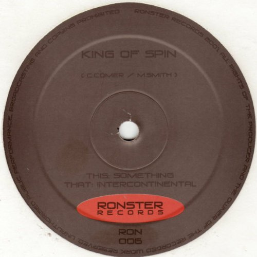 King Of Spin - Something - Ronster Records - RON 006