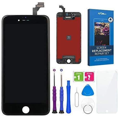 FLYLINKTECH Touch Screen Schermo per iPhone 6 Plus Display LCD Vetro Digitizer Parti di Ricambio Kit Smontaggio trasformazione Completo di Ricambio - Utensili Inclusi