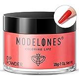 Modelones Dip Powder Red Color, Nail Dipping...