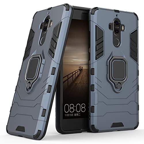 JIAHENG Caja del teléfono Huawei Mate 9 Funda Telefónica, Caja De Smartphone del Anillo De Rotación De 360 Grados, Cubierta del Titular De La Caja del Teléfono A Prueba De Golpes para H