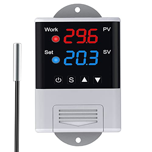 huanyudaeroy 110V 220V Temperature Heating Controller Cool free Therm unisex