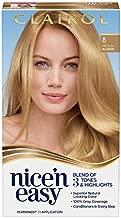 Clairol Nice'n Easy Permanent Hair Dye, 8 Medium Blonde Hair Color, 1 Count