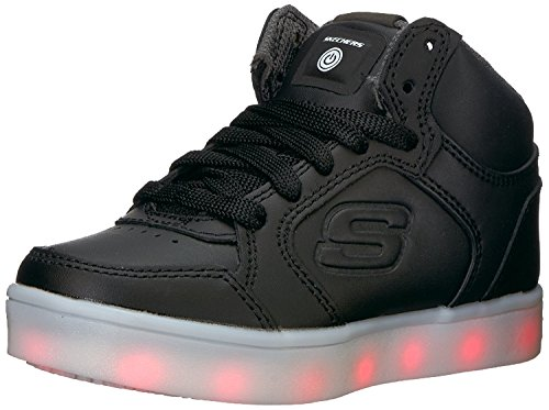 Skechers Jungen Energy Lights Elate Sneaker, Schwarz (Black), 35 EU