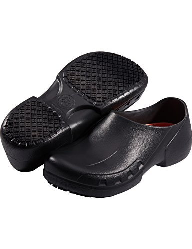 SensFoot Slip Resistant Chef Shoes Restaurant Non Slip Work Shoes for Men Women (12 M US Women / 10...