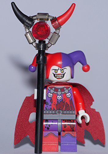 LEGO Nexo Knights Minifigur : Jestro with weapon out of set 70323 70316